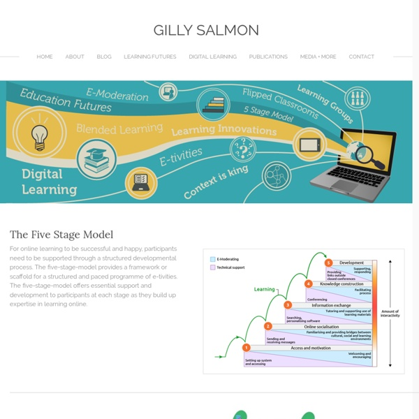 Five Stage Model - Gilly Salmon