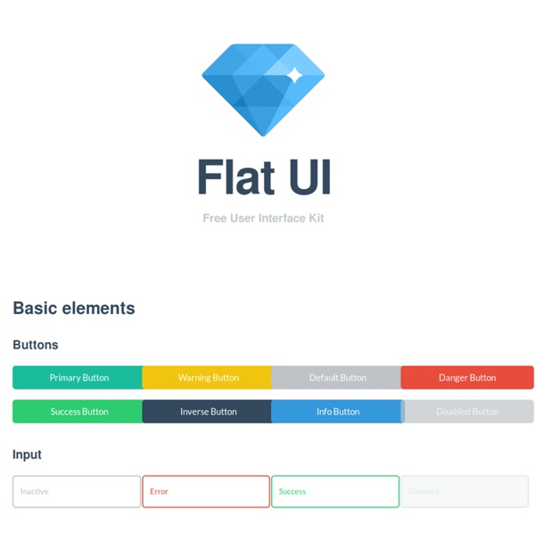 Flat UI - Free Bootstrap Framework and Theme