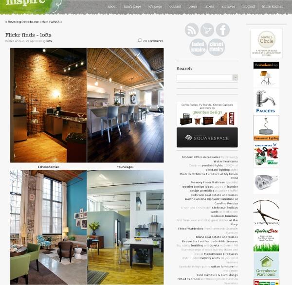 Flickr finds -lofts