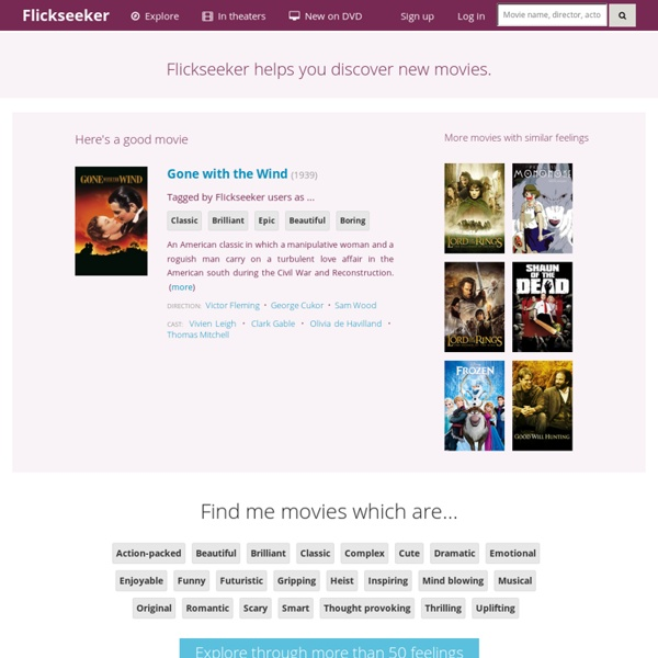 Flickseeker - Discover Movies by Feeling