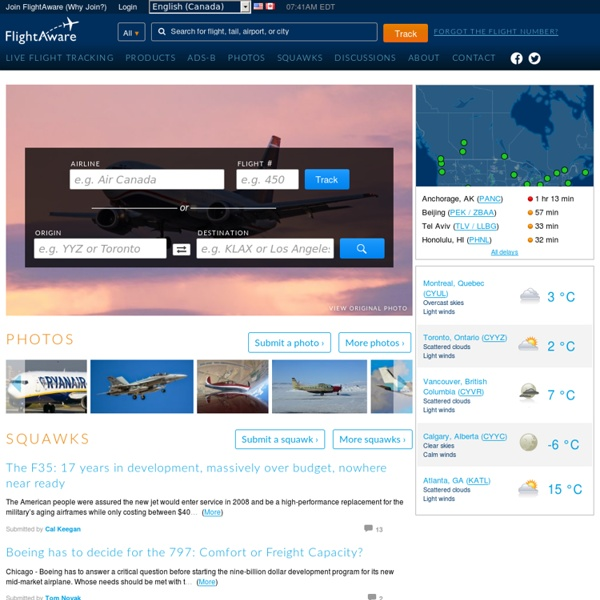 FlightAware - Flight Tracker / Flight Status / Flight Tracking