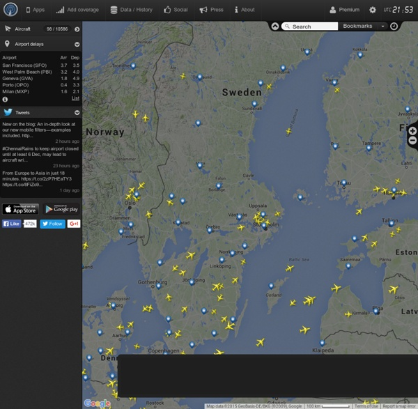 Flightradar24.com - Flight Tracker Live!