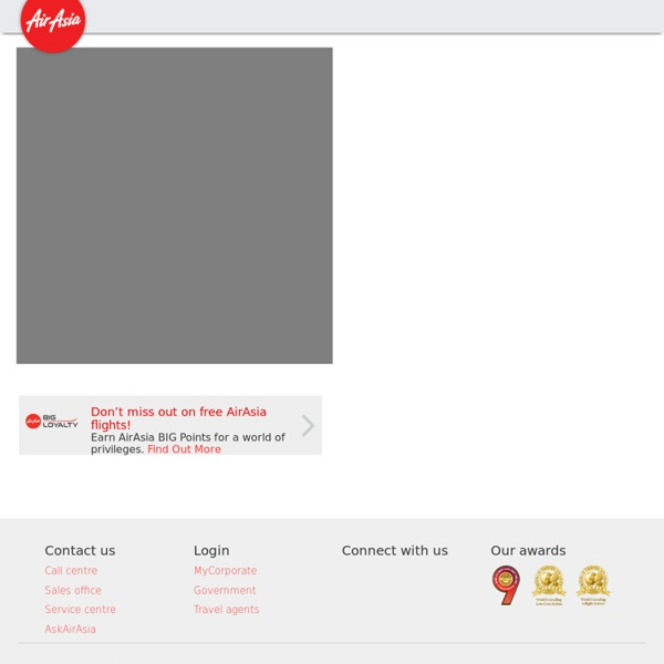 Welcome to AirAsia.com, The World's Best Low-Cost Airline