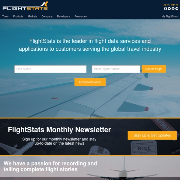 Global Flight Tracker, Status Tracking and Airport Information