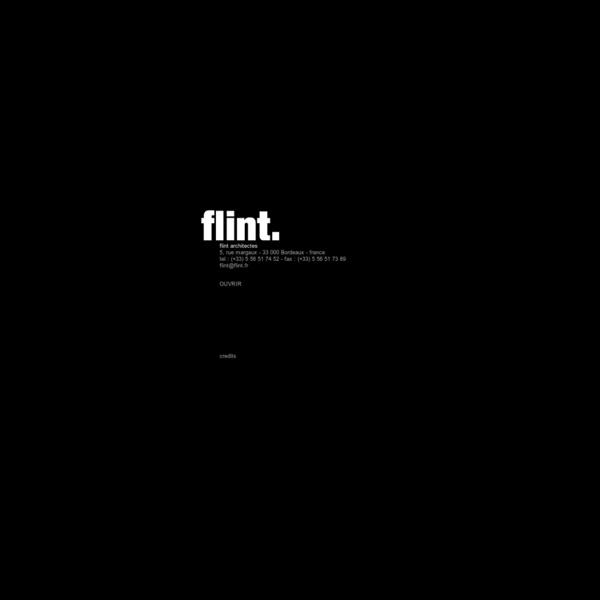 Flint architectes bordeaux