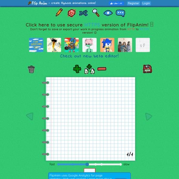 FlipAnim - create flipbook animations online!