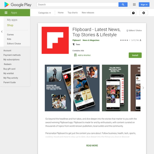 Flipboard: Your News Magazine - Android Apps on Google Play