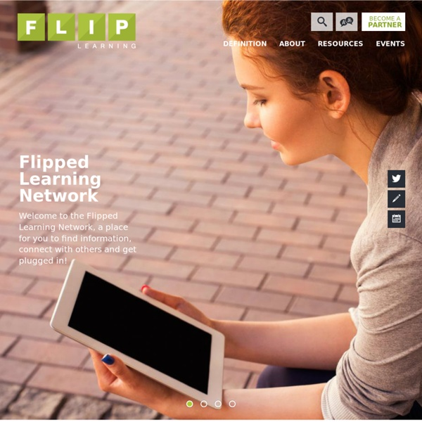 Flipped Learning Network / Homepage