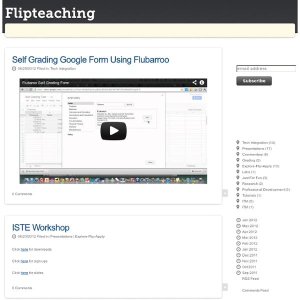 Flipteaching