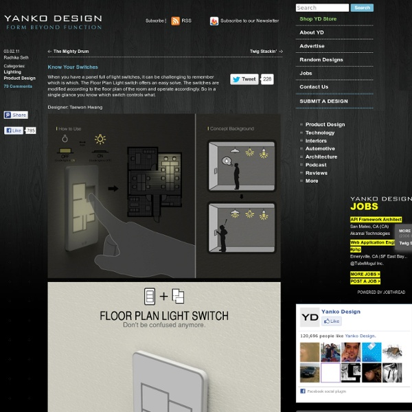Floor plan light switch by taewon hwang pearltrees - Floor plan light switch ...