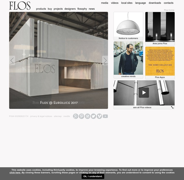 Flos official web page