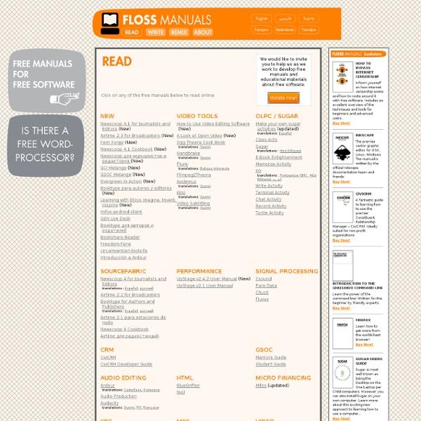 FLOSS Manuals (en)