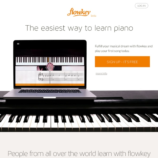 Learn piano online