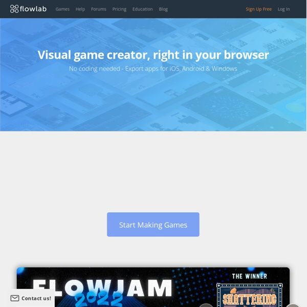Flowlab Game Creator - Make games online
