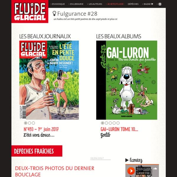 FLUIDE GLACIAL - lesbeauxalbums