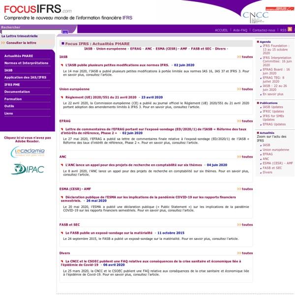 IASB - Focus IFRS