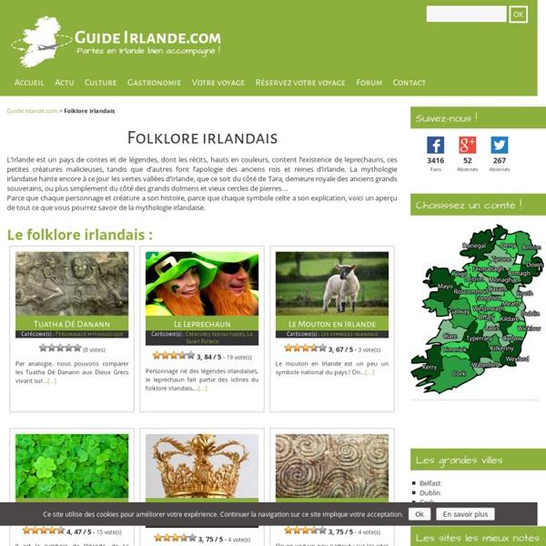 Mythologie Irlandaise - Contes et légendes irlandaises