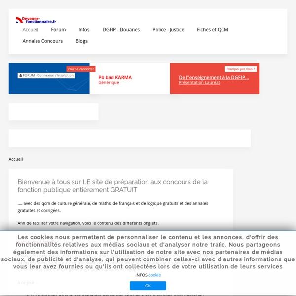 Www.devenez-fonctionnaire.fr CONCOURS ADMINISTRATIFS ANNALES GRA