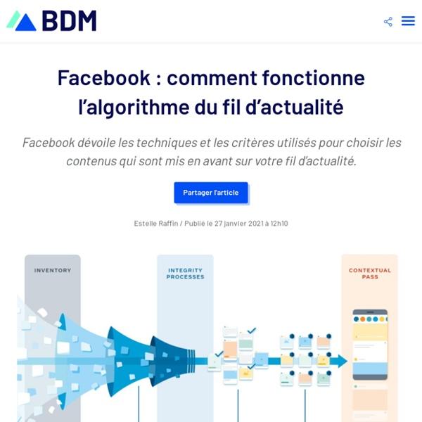 Facebook : comment fonctionne l'algorithme du fil d'actualité