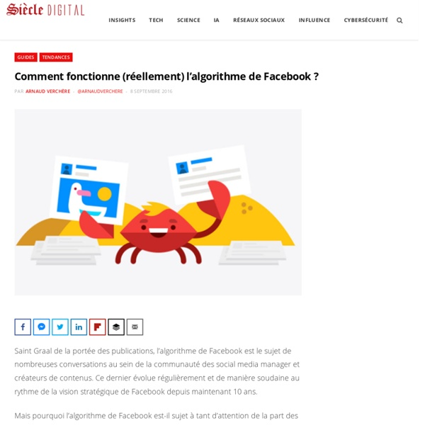 Comment fonctionne (réellement) l'algorithme de Facebook ?