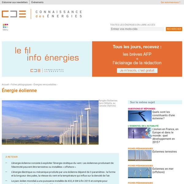 Energie éolienne : définition, fonctionnement, avantages, problèmes,