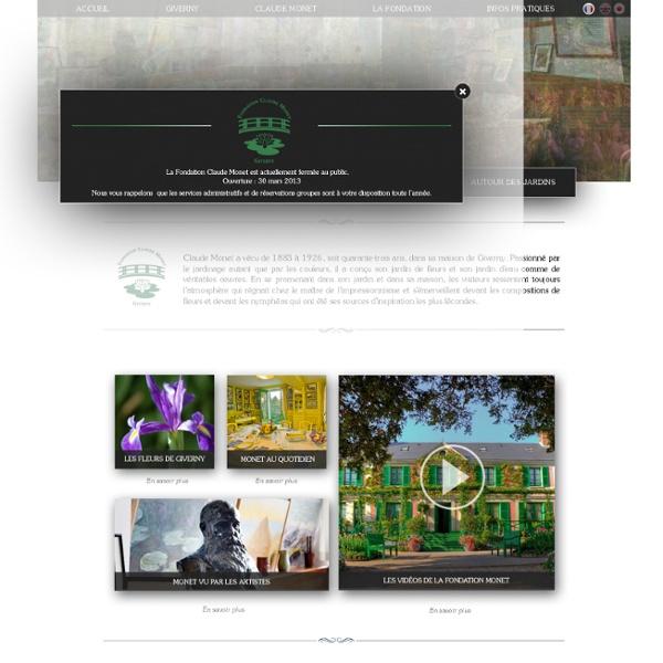 .: Fondation Claude Monet :.