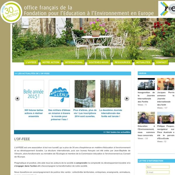 F3e - Fondation pour l'education à l'environnement en Europe