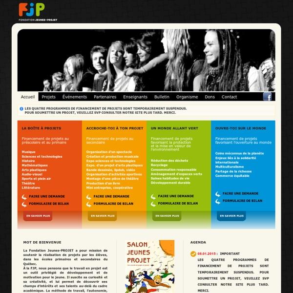 Fondation Jeunes-PROJET