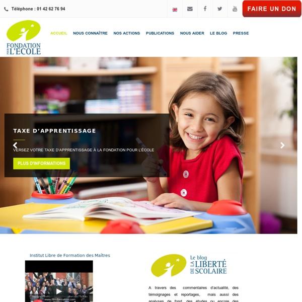 Présentation-Fondation pour l'Ecole