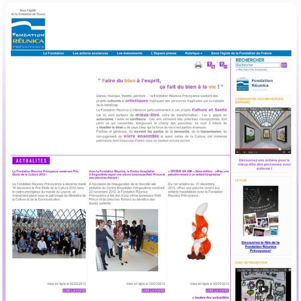 Fondation Reunica Prevoyance - Accueil