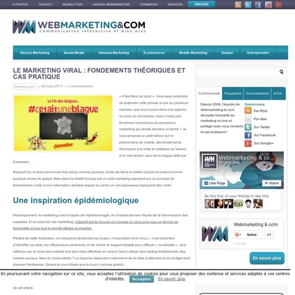 Le marketing viral : fondements théoriques et cas pratique