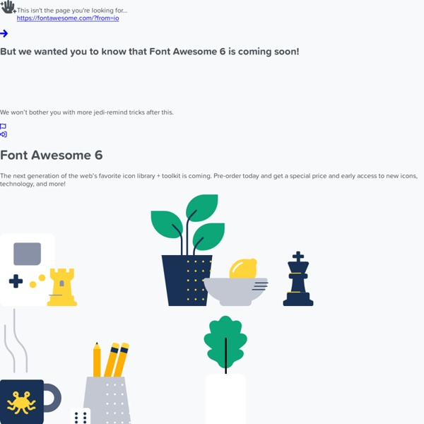 Font Awesome, the iconic font and CSS toolkit