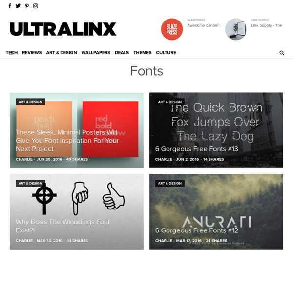 Best Free Fonts Ever Downloads 2012