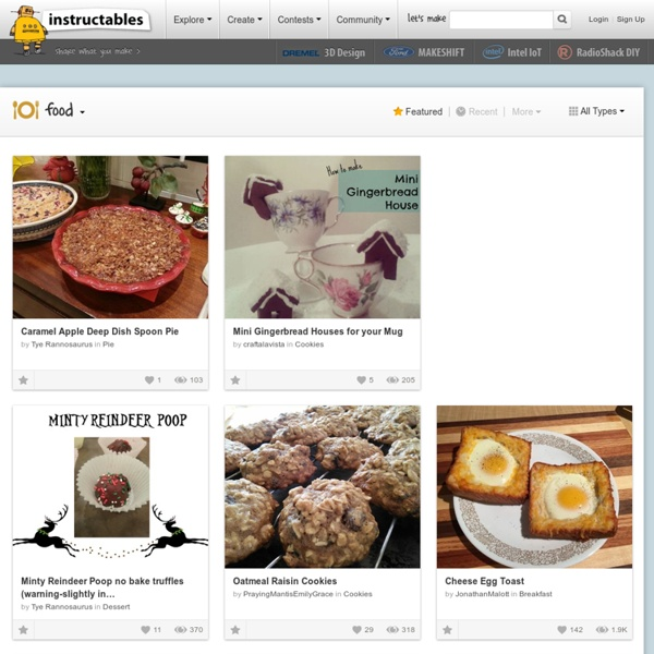 Food - How to Make Instructables