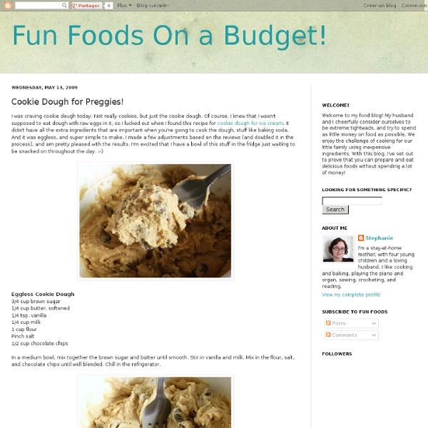 Cookie Dough for Preggies!