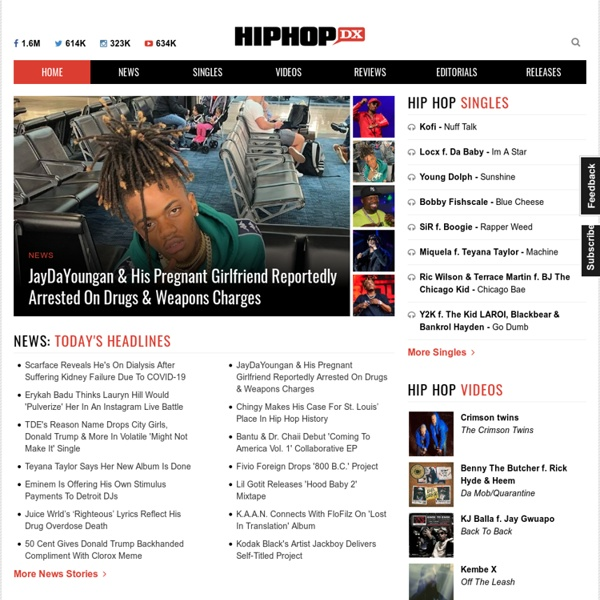 For New Hip Hop music, Hip Hop News & all things Rap & Hip Hop