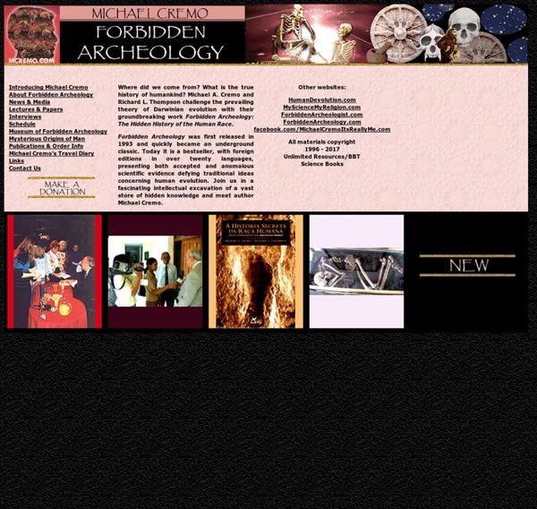 Forbidden Archeology - Michael A. Cremo