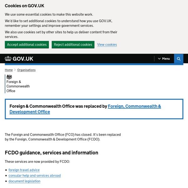 BritishForeign&Commonwealth Office FCO