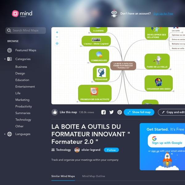 """La boite à outils du formateur innovant """" Format..."""