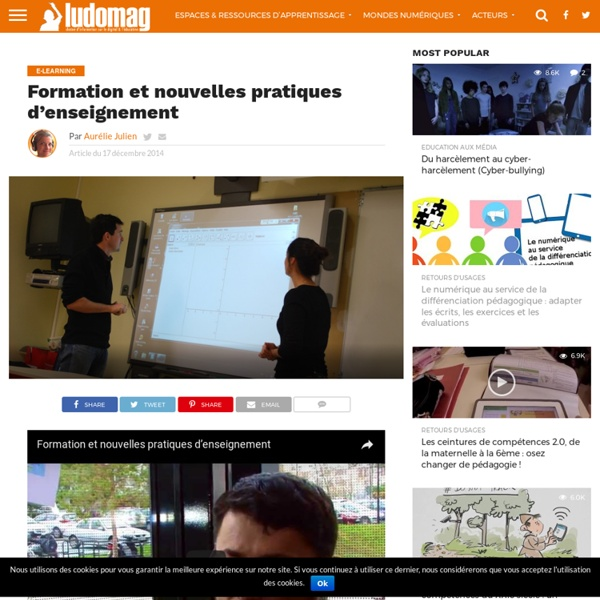 Formation et nouvelles pratiques d'enseignement – Ludovia Magazine