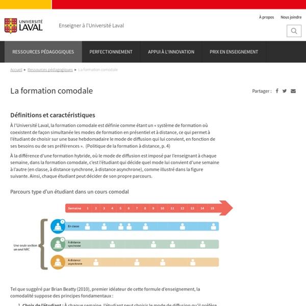 La formation comodale [Université Laval]