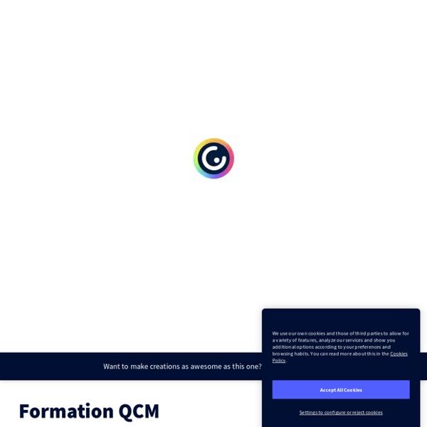 Formation QCM