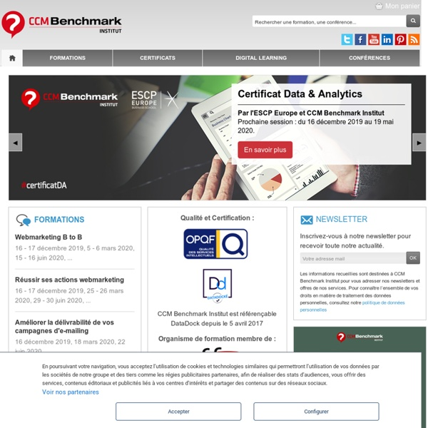 Banques sur Internet - Benchmark Group