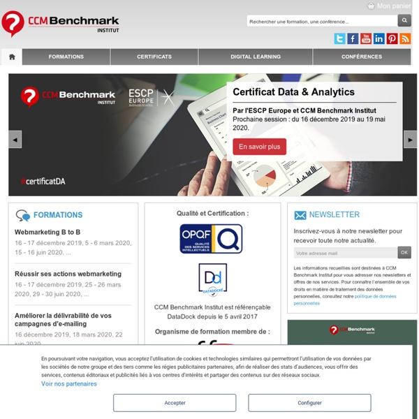 Benchmark Group Etudes, Edition et Formation