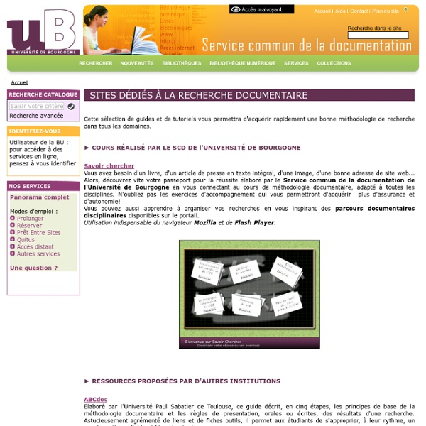 SERVICES-FORMATIONS-METHODOLOGIE