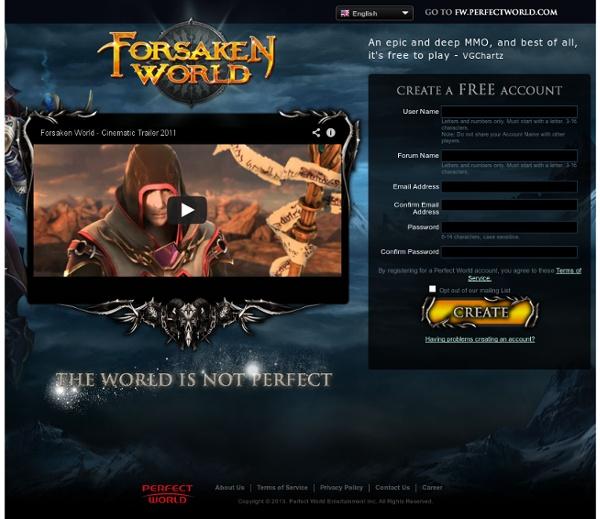 Forsaken World - The Ultimate Free to Play MMORPG