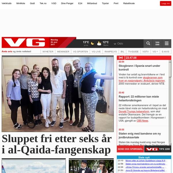 Forsiden - VG