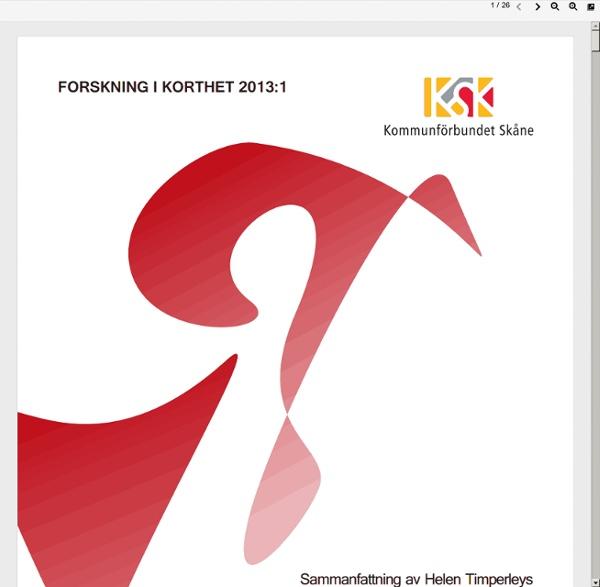 Www.kfsk.se/download/18.11165b2c13cf48416de1b2/1377195405170/Forskning+i+korthet+2013+nr1.pdf