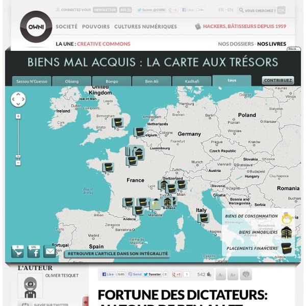 Maps Fortune des dictateurs