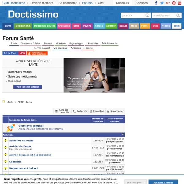 Forum Santé - Doctissimo